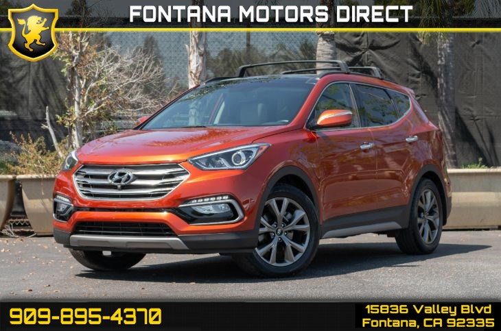 2018 Hyundai Santa Fe Sport 2.0T Ultimate (Panoramic Roof & 360 Back-Up Camera)