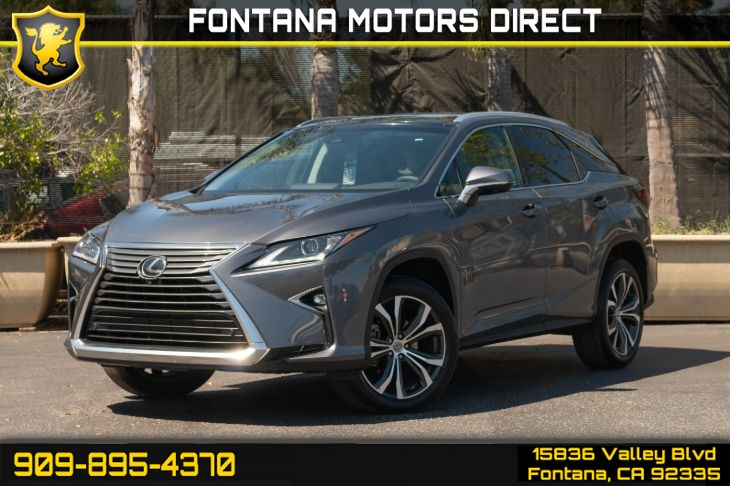 2016 Lexus RX 350 (Navigation and Premium Package)