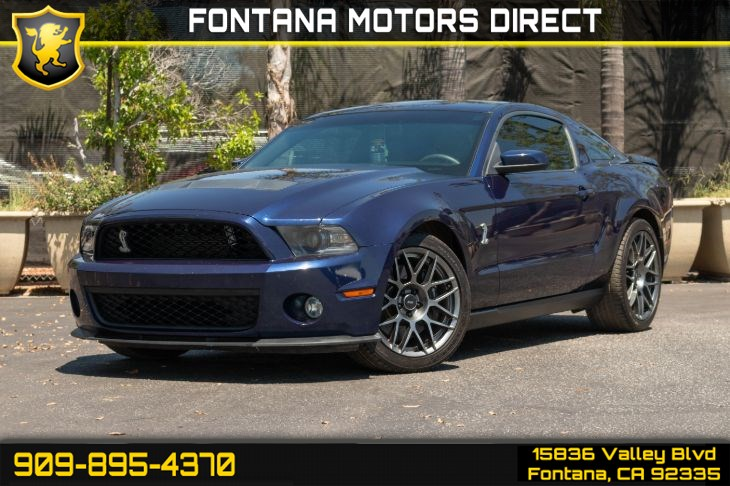 2011 Ford Mustang GT 500 (SVT Performance Package)
