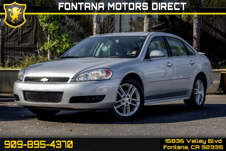 Sold 2016 Chevrolet Impala Limited Ltz Fleet In Fontana