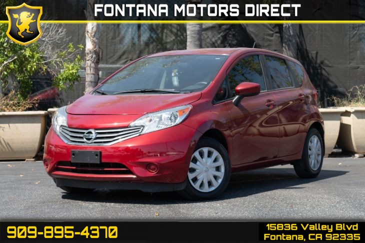 2016 Nissan Versa Note SV (Back-Up Camera & Smart Device Integration)