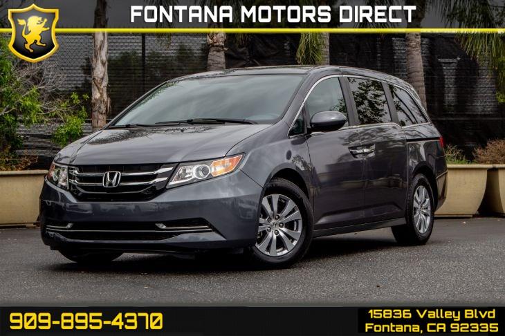 2017 Honda Odyssey Se >> 2017 Honda Odyssey Se Fontana Motors Direct