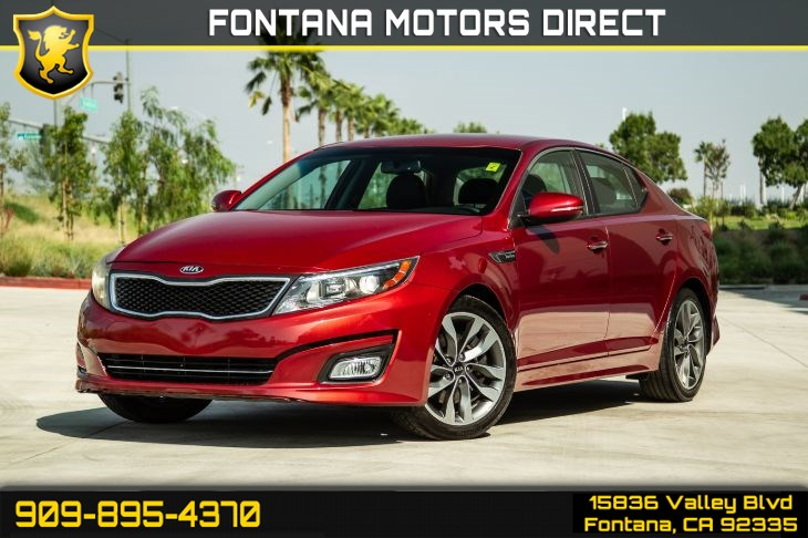 2015 Kia Optima SX Turbo (Bluetooth & Remote Start)