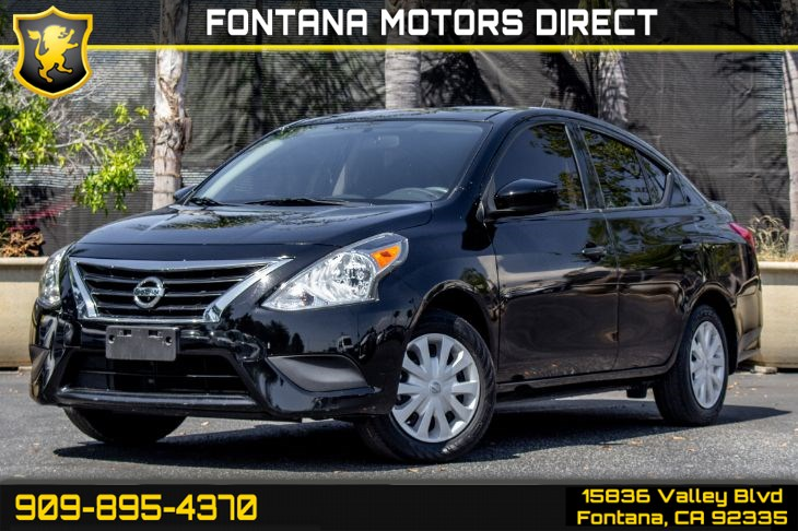 2016 Nissan Versa (1.6 S Plus Package)