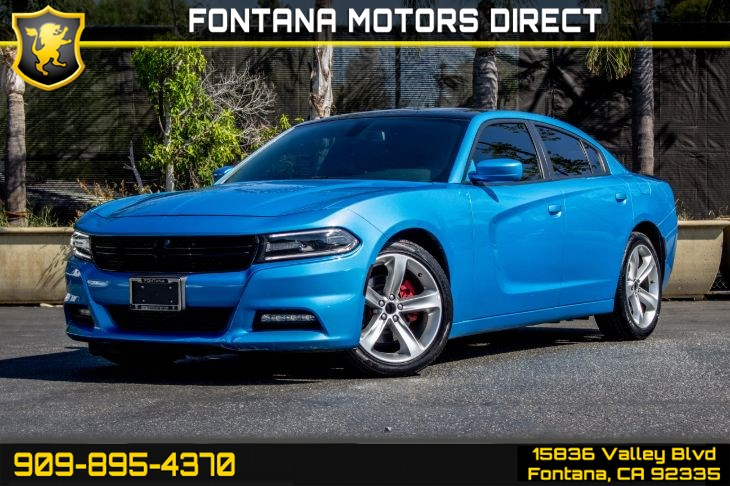 2018 Dodge Charger R/T (Bluetooth & Backup Camera)