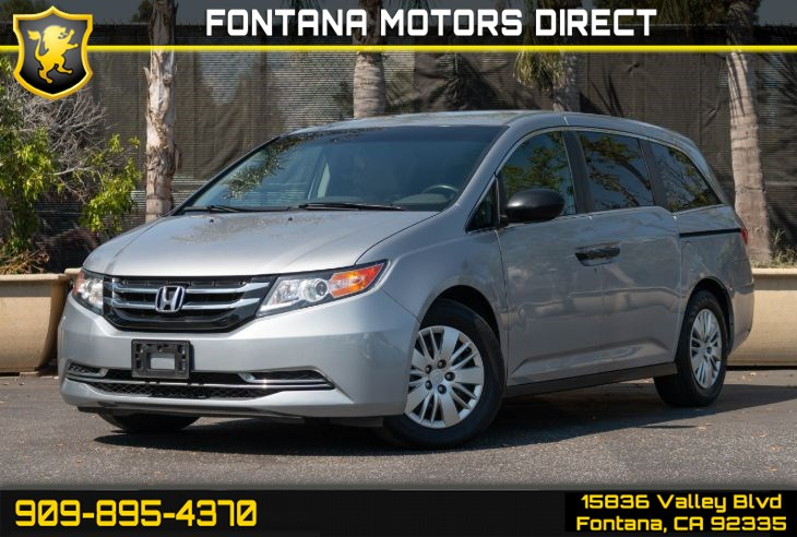 2016 Honda Odyssey LX (Smart Device Integration & Back-up Camera)