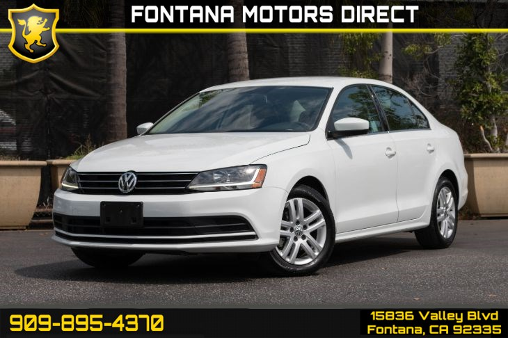 2017 Volkswagen Jetta 1.4T S (Back-up Camera & Cruise Control)