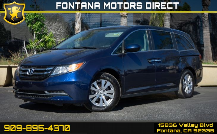 2016 Honda Odyssey EX-L (Smart Device Integration & Back-up Camera)