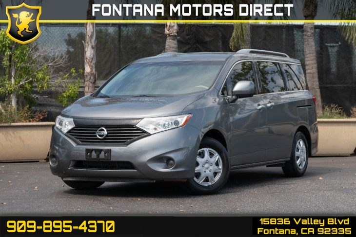 2015 Nissan Quest 3.5 S (Keyless Start & MP3 Player)
