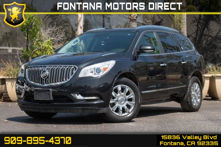 2015 Buick Enclave Premium (Intellink & Dual Moonroof)
