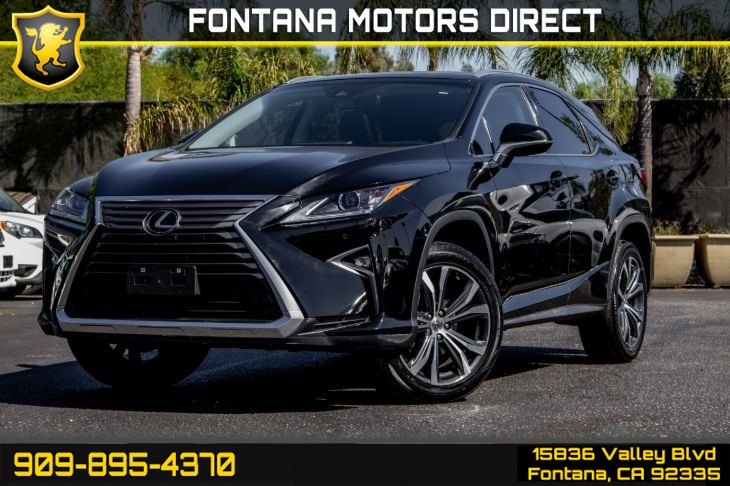 2017 Lexus RX 350 (Navigation and Premium Package)