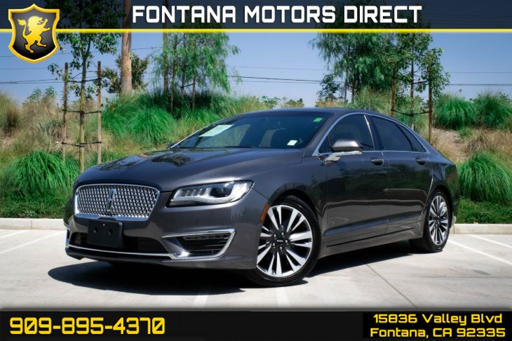2017 Lincoln MKZ Reserve (Navigation Package)