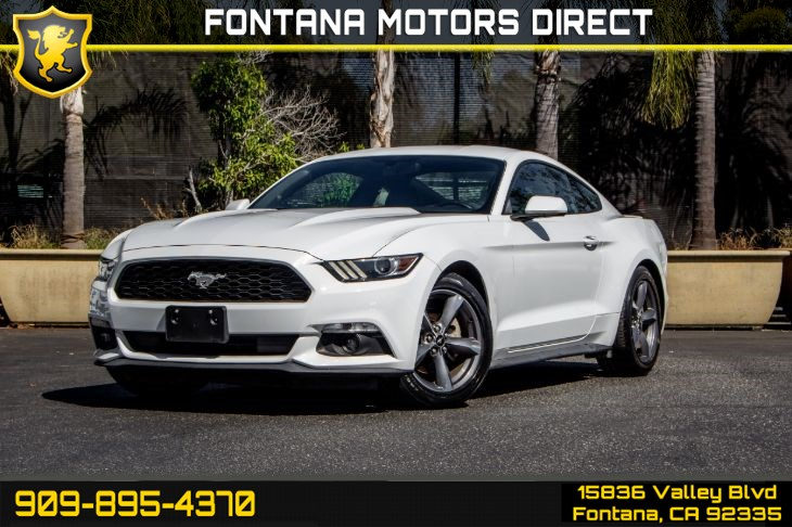 2015 Ford Mustang V6 (Back-up Camera & Bluetooth)