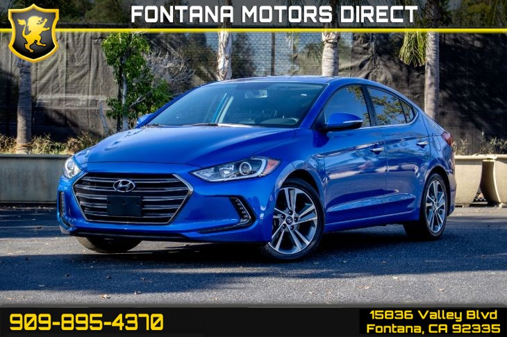 2017 Hyundai Elantra Limited (Limited Tech Package & Moonroof)
