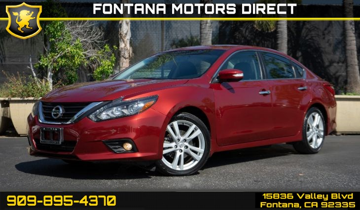 2016 Nissan Altima 3.5 SL (3.5 TECHNOLOGY PACKAGE)