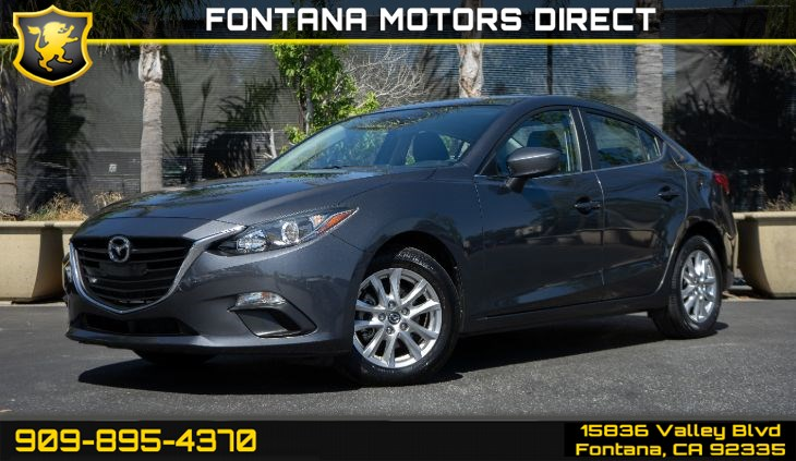 2016 Mazda Mazda3 i Sport (PREFERRED EQUIPMENT PACKAGE)