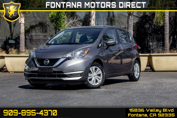 2017 Nissan Versa Note SV (Back-Up Camera & Satellite Radio)