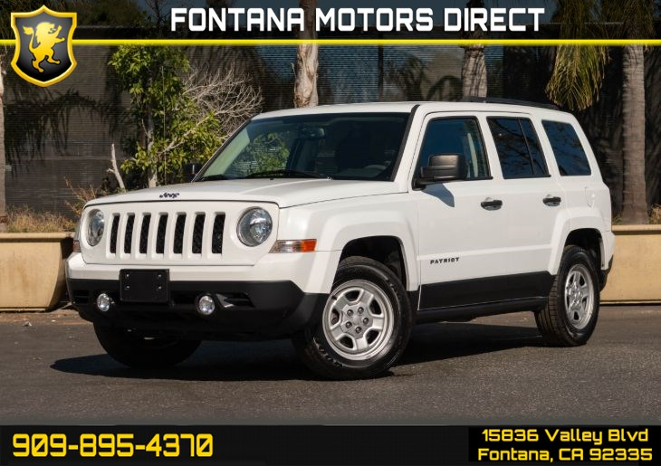 2017 Jeep Patriot Sport (Cruise Control & Variable Transaxle)