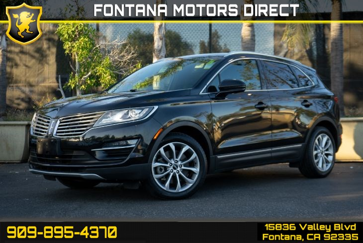 2015 Lincoln MKC (SELECT PLUS PACKAGE)