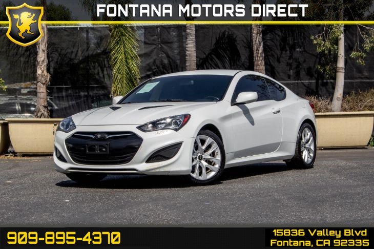 2013 Hyundai Genesis Coupe 2.0T (Keyless Entry & Satellite Radio)