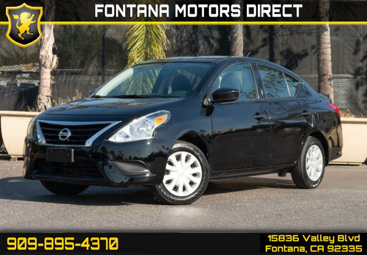 2017 Nissan Versa Sedan 1.6 S Plus (Bluetooth Connection)