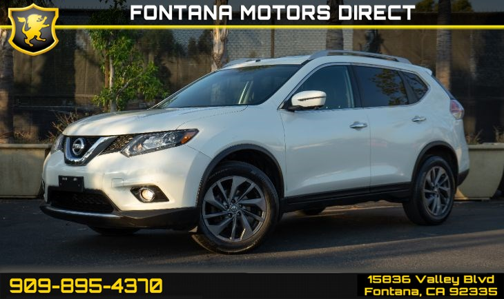 2016 Nissan Rogue (SL PREMIUM PACKAGE)