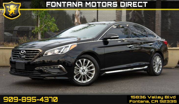 2015 Hyundai Sonata Limited (Technology Package & Ultimate Package)