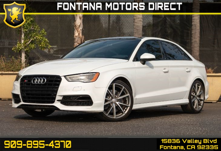 2016 Audi S3 2.0T quattro S Tronic (Technology Package)