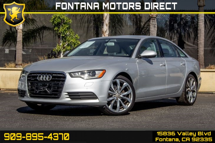 2013 Audi A6 2.0T Quattro TipTronic (Premium Plus Package)
