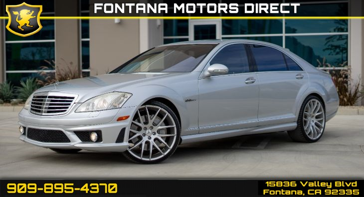 2008 Mercedes-Benz S63 AMG (AMG PERFORMANCE Package)