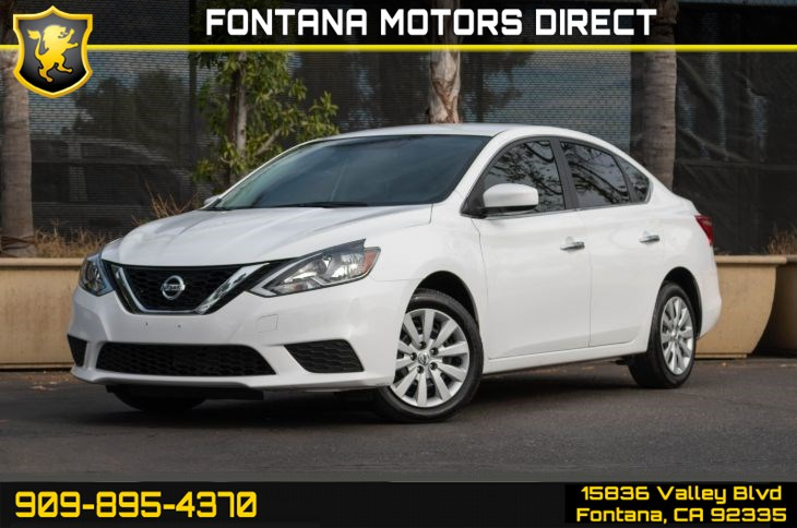 2017 Nissan Sentra S (Bluetooth Connection)