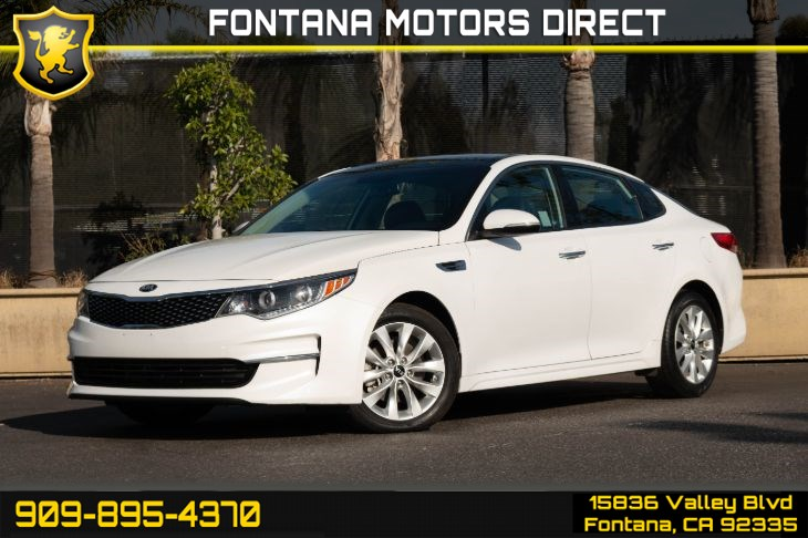 2016 Kia Optima EX (Premium Package & Key-less Start)