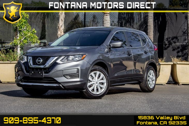 2017 Nissan Rogue (S FAMILY PACKAGE)