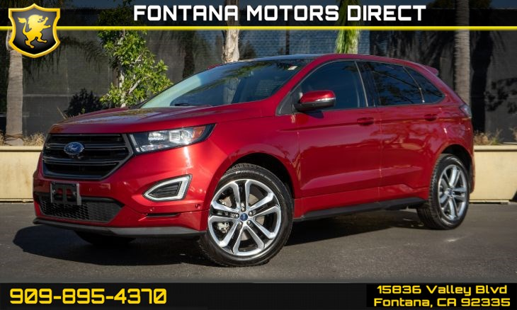 2015 Ford Edge Sport (Navigation & Panoramic Roof)