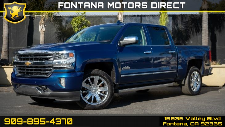 2016 Chevrolet Silverado 1500 High Country (Premium & Driver Alert Package)