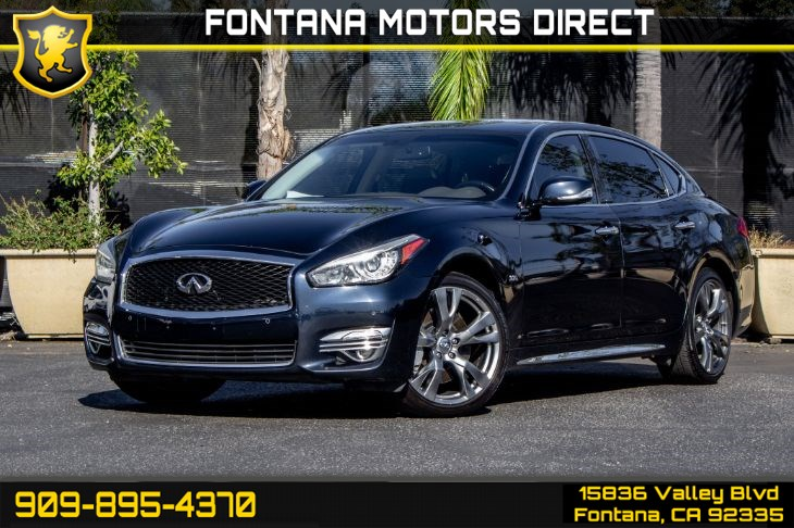 2016 INFINITI Q70L 3.7 (Deluxe Touring Package & Performance Tire and Wheel Package)