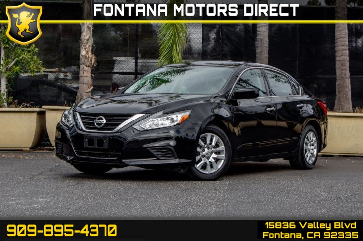 2016 Nissan Altima 2.5 S (POWER DRIVER SEAT PACKAGE)