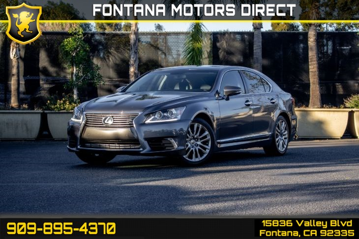 2015 Lexus LS 460 (All Weather Package & Comfort Package)