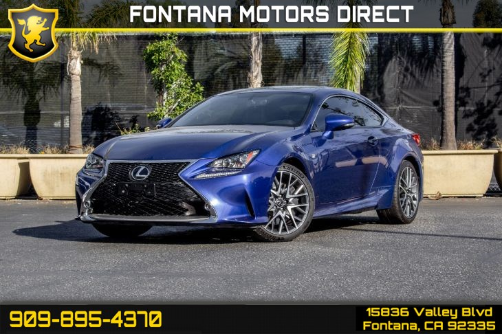 2015 Lexus RC 350 (F-Sport & Navigation Package)