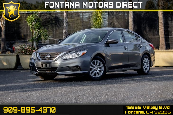 2017 Nissan Altima 2.5 S (POWER DRIVER SEAT PACKAGE)