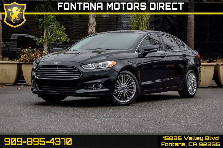 2014 Ford Fusion SE (Luxury Package)