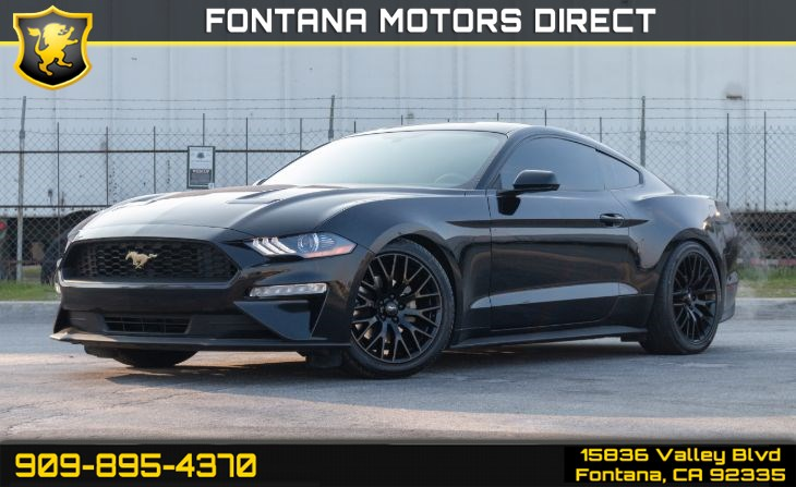2018 Ford Mustang EcoBoost (Equipment Package & Back-up Camera)