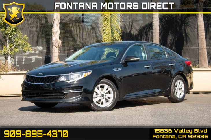 2016 Kia Optima LX (Back-up Camera & Cruise Control)