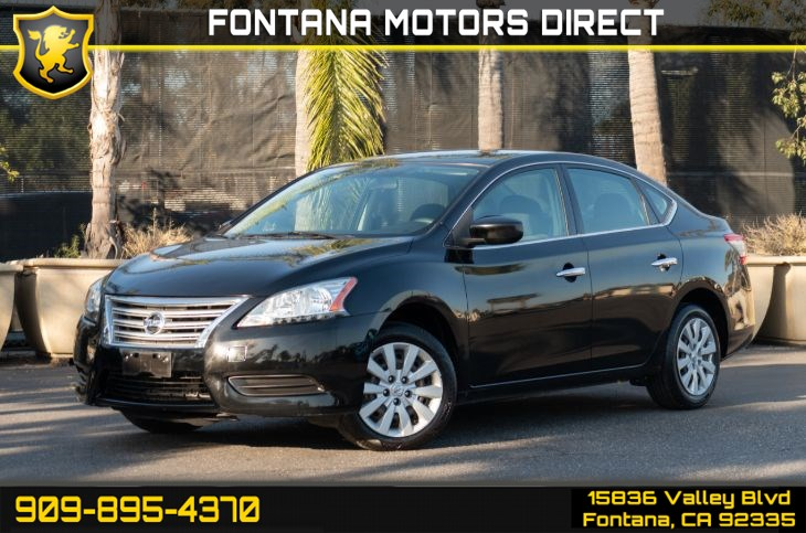 2014 Nissan Sentra SV (Cruise Control & Sport Mode)