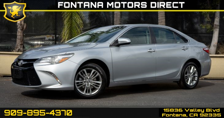 2015 Toyota Camry SE (Bluetooth & Backup Camera)