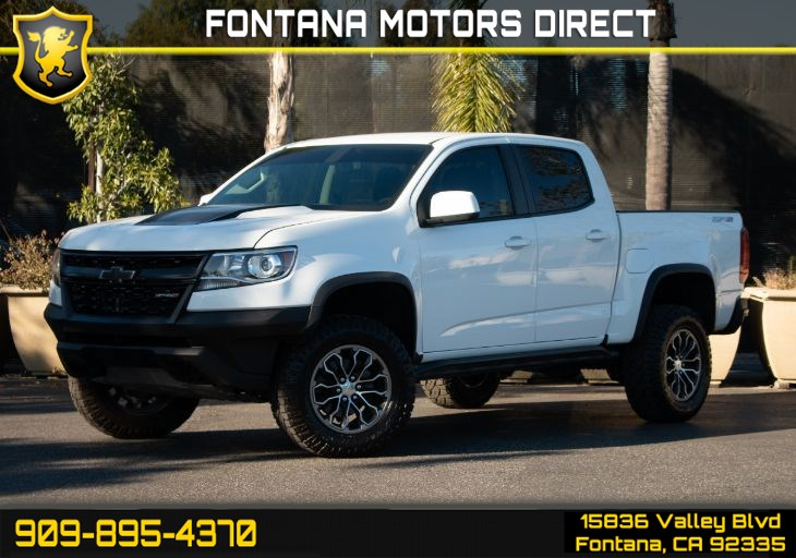 2018 Chevrolet Colorado 4WD ZR2 (Off Road Appearance Package & Bose Audio System)