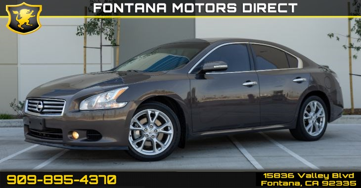 2013 Nissan Maxima 3.5 SV (Bluetooth & Sunroof)