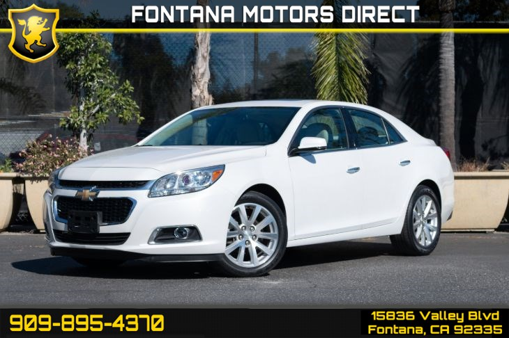 2016 Chevrolet Malibu Limited LTZ (Advanced Safety Package & Entertainment Package)