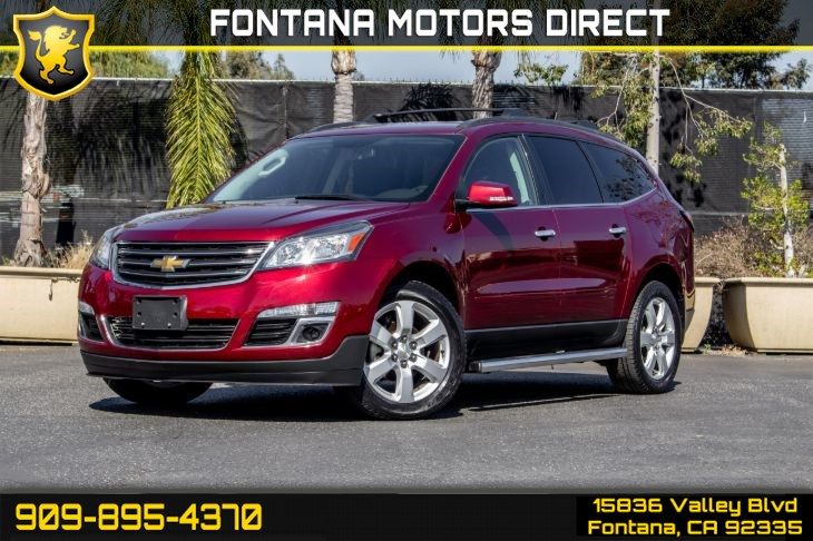 2017 Chevrolet Traverse LT (STYLE AND TECHNOLOGY PACKAGE)