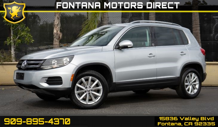 Sold 2017 Volkswagen Tiguan Wolfsburg Edition Panoramic Roof Backup Camera In Fontana